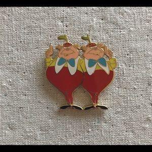 Disney Pin Tweedle Dee and Dum